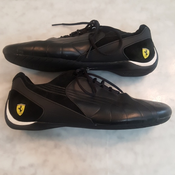 info for e95e4 aee82 Ferrari Puma Leather and Suede Women's Sneakers